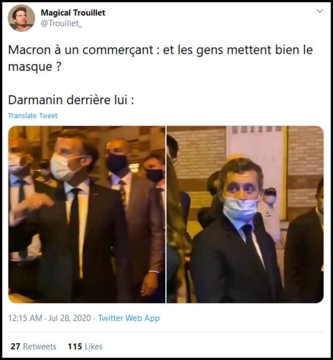 Sans commentaires. Tweet de Magical Trouillet (@Trouillet_)