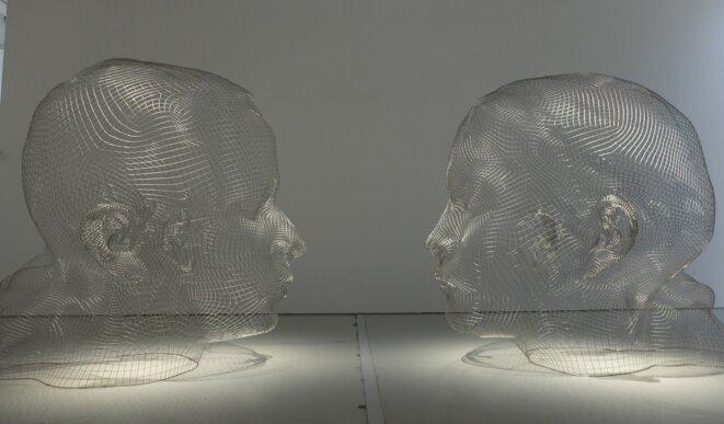 Juan Plansa, Laura & Lou, 2017, Musée d'art moderne contemporain de Saint-Etienne [Photo YF]