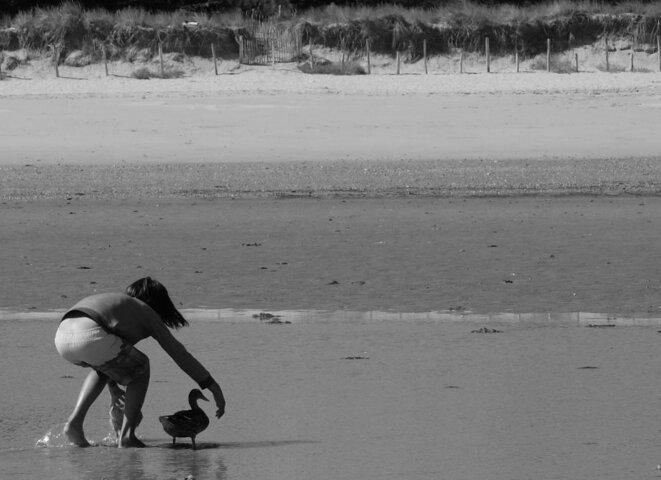 Enfant et oiseau, Ré © Moto5