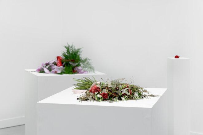 Kapwani Kiwanga, Flowers for Africa : Ghana, 2014, collection FRAC Poitou- Charentes. © Kapwani Kiwanga & Galerie Jérôme Poggi ; Paris, ADAGP, Paris ; photo: Aurélien Mole.