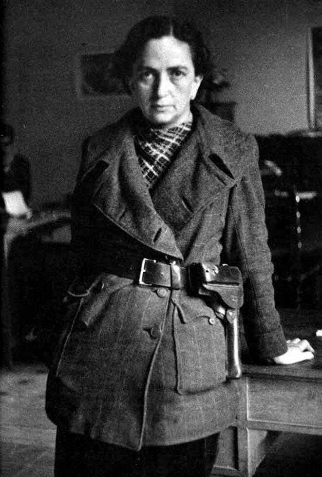 Mika Etchebéhère en 1937. © Wiki Commons