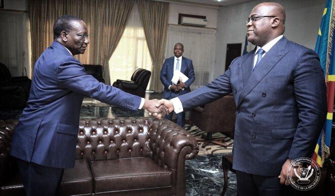 Félix Tshisekedi et son premier ministre Sylvestre Ilunga © Présidence RDC