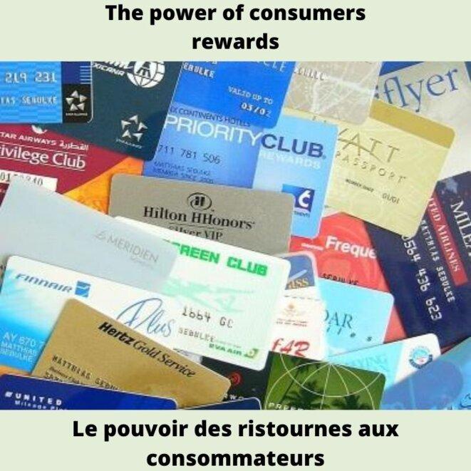 Le pouvoir des ristournes aux consommateurs © Dorien
