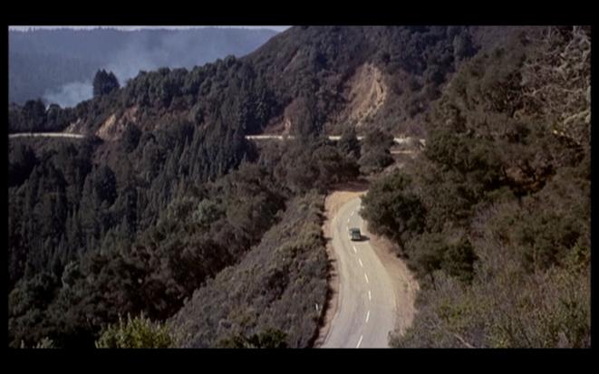 Sueurs froides, A. Hitchcock: en route vers Muir Woods