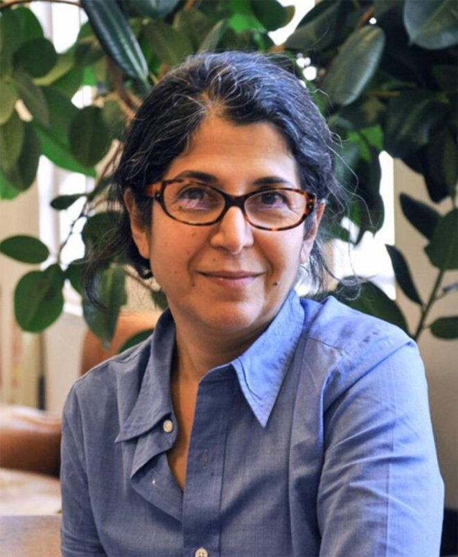 Paris-based anthropologist Fariba Adelkhah, serving a five-year jail term in Iran. © Sciences Po