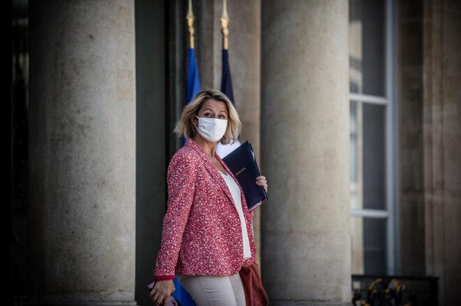 Brabara Pompili, ministre de la transition énergétique. © Nicolas Orchard / Hans Lucas / Hans Lucas via AFP