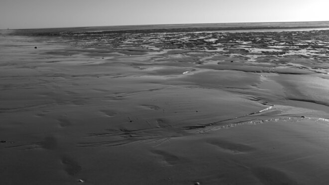 La plage abandonnée © Vent d'Autan