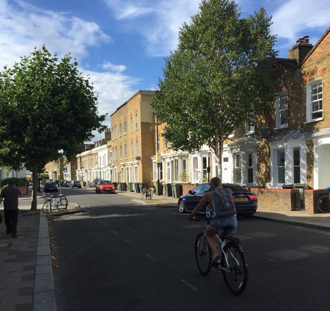 Le Low Traffic Neighbourhood (LTN) de Brixton. © AA