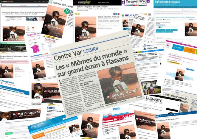 Une promotion massive sur le web pour cette avant-première. © Mômes du Monde - Touche2style