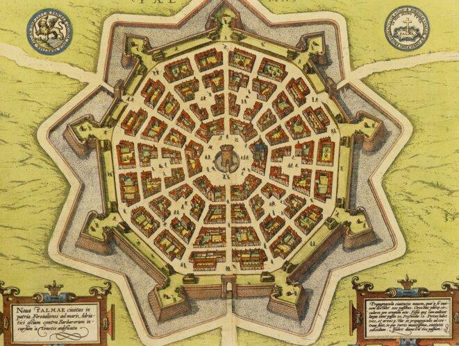 Plan de Palmanova (vers 1600)