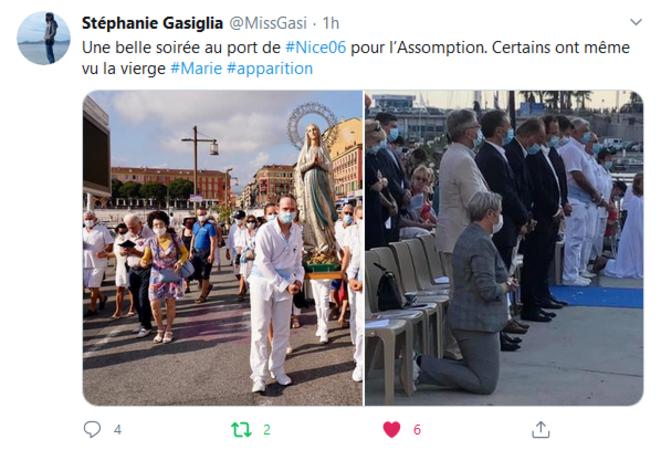 Assomption au port de Nice © Stéphanie GASIGLIA