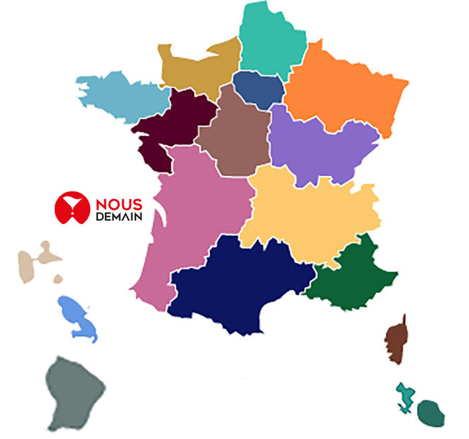 Carte de France inclusive