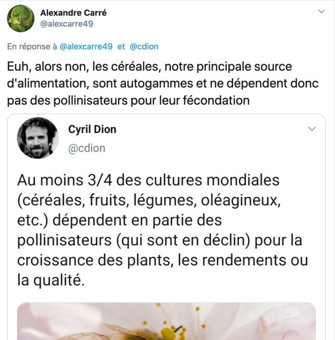 tweet-pollinisation