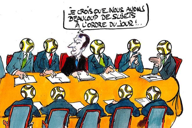 Ligue des champions © Calvi