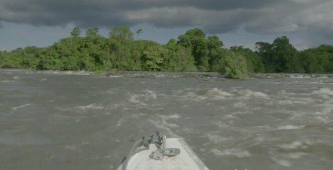 Image du fleuve Maroni, film Umti, les origines de Yanawana Pierre