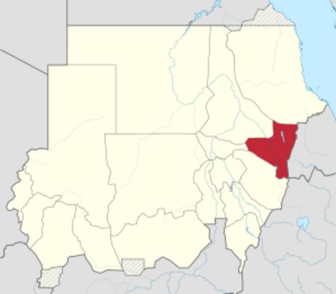 Situation de l'Etat de Kassala au Soudan.
