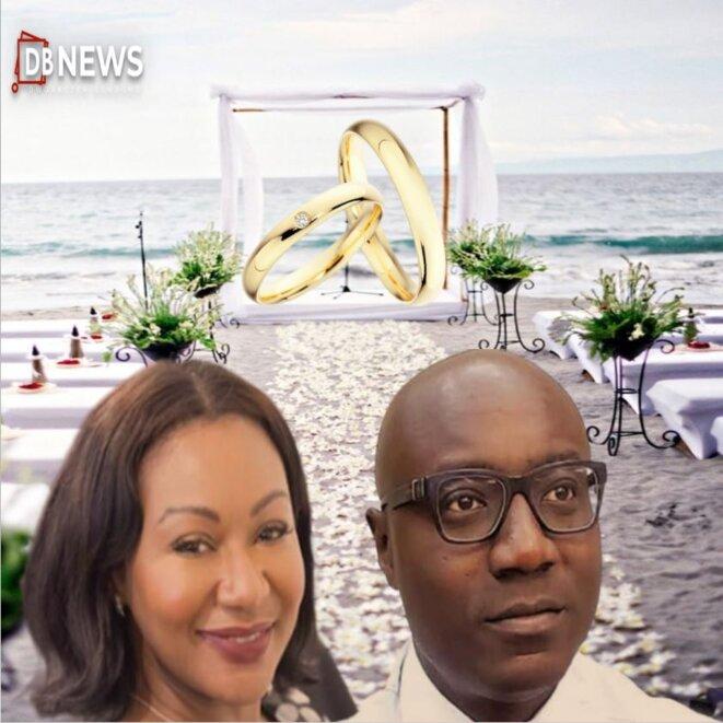 gabon :  Alia Maeva Bongo Ondimba & Biendi Maganga Moussavou