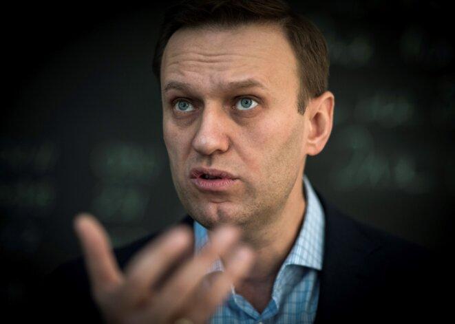 Alexeï Navalny, ici en juillet 2018. © Mladen ANTONOV / AFP