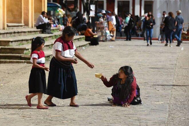 « Vivre pendant la pandémie », San Cristóbal de las Casas, Chiapas, Mexique © @isaacguzmanphoto