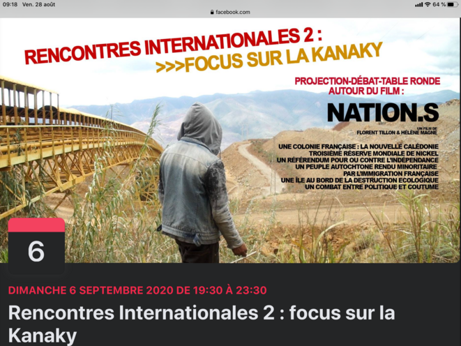 NATION.S. RENCONTRES INTERNATIONALES 2. FOCUS SUR LA KANAKY