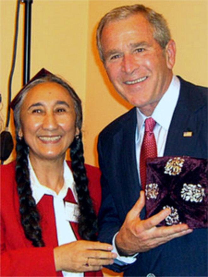 Kadeer et Bush