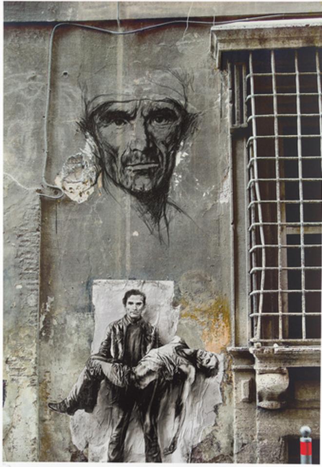 Pasolini – Dans l'infâmie des temps © Ernest Pignon-Ernest, 2016