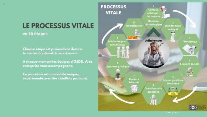 Processus Vitale® © OSDEI Association Aide Entreprise