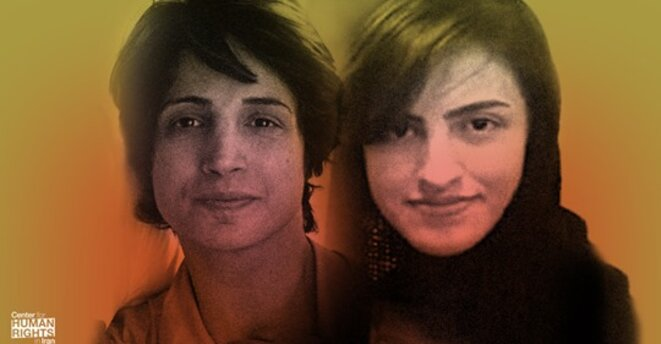 Nasrin Sotoudeh & sa fille Mehraveh Khandan © Iran Human Rights