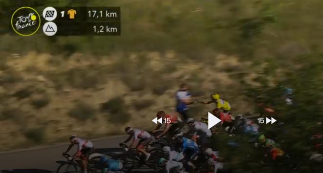© Capture d'écran d'Eurosport.fr