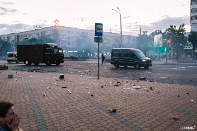 Le matin du 11 août à Brest-Litovsk