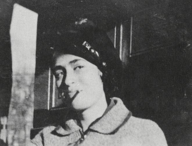 Lisa Fittko, jeune militante antinazie, en Allemagne vers 1928.