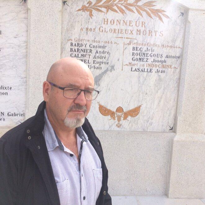 Richard Sleizak, le maire de la commune © JLLT / MP