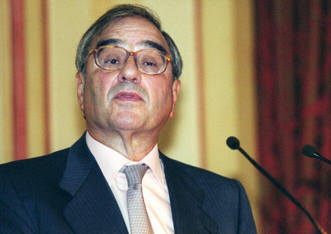 L'ancien ministre espagnol Rodolfo Martín Villa.