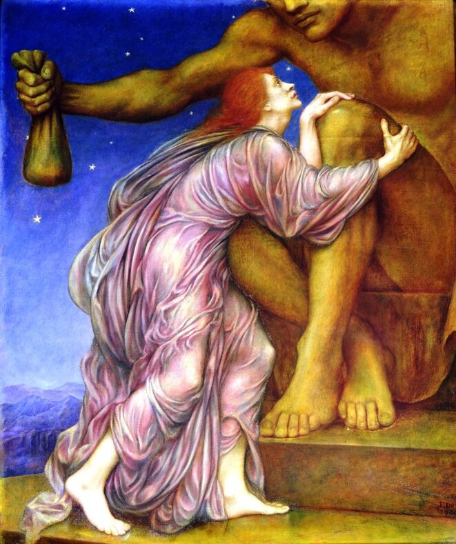 Le Culte de Mammon, Evelyn De Morgan