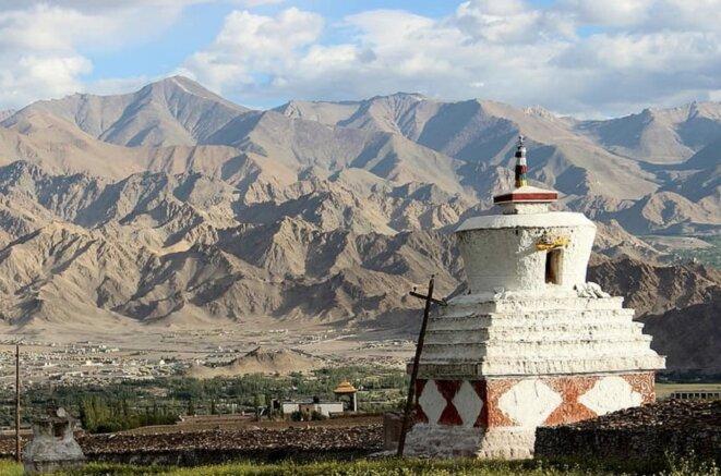 Région du Ladakh, Cachemire indien.