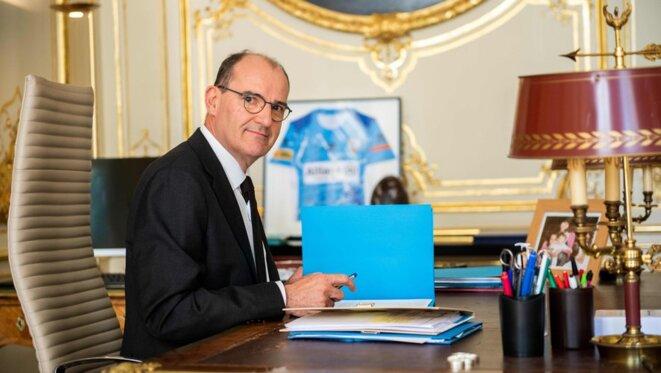 Jean Castex, Premier ministre © José Gallien