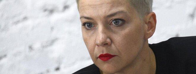 Maria Kolesniskova © EVGENY ODINOKOV / SPUTNIK / AFP