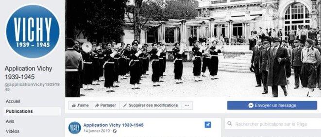 L'appli élaborée par l'historienne Audrey Mallet est à ce jour le seul moyen de découvrir la période juillet 1940-août 1944 à Vichy.