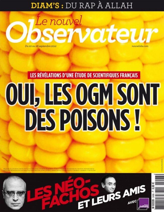 Le Nouvel Observateur, septembre 2012