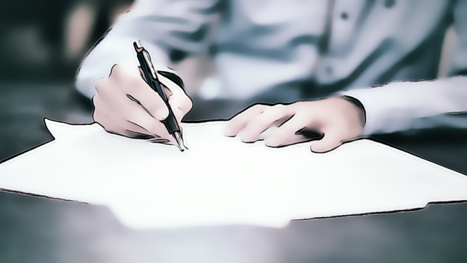 Signature contrat © FRANC SERRES