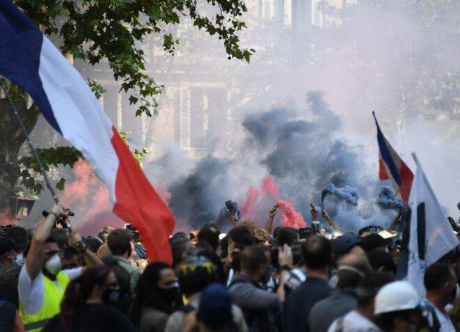 À Paris, le 12 septembre. © Alain Jocard / AFP