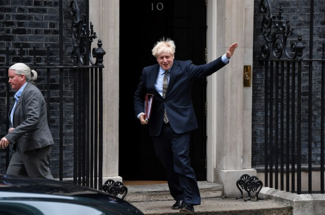 Boris Johnson le 9 septembre 2020. © AFP / Ben Stansall