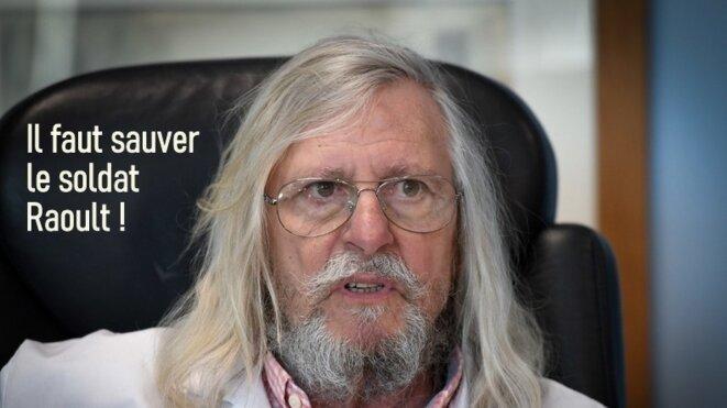 Le professeur Didier Raoult © José Gallien
