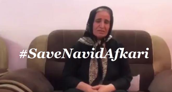Mère de Navid Afkari