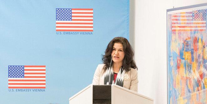 Photo de l'ambassade des États-Unis à Vienne