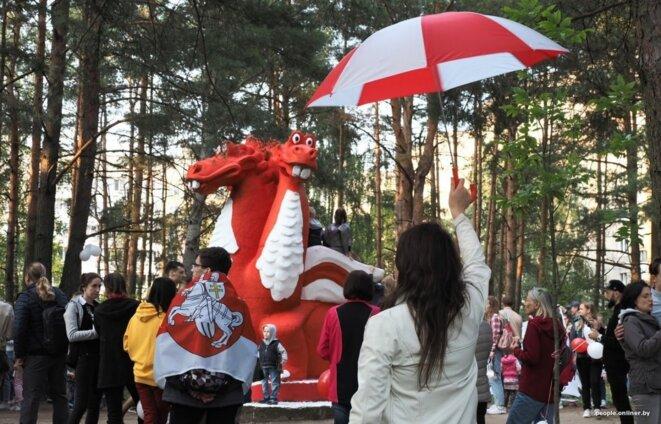 Le dragon blanc-rouge de Ouroutcha, Minsk