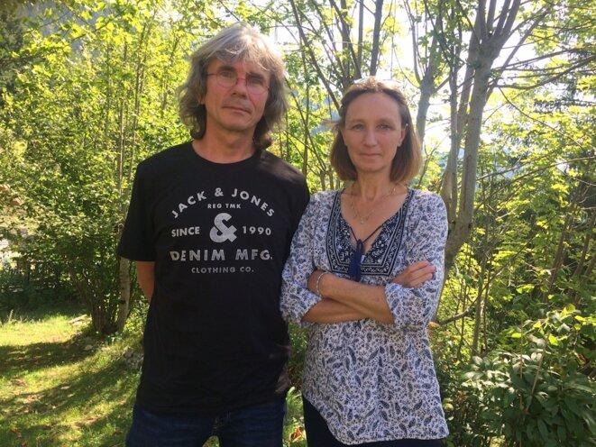 François et Véronique Nougier, de l'association Vertaccueillants. © JLLT / MP