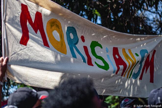 Le Mauricianisme célébré avec force lors de la marche du 12 septembre à Mahébourg. © Julian Huët Fotografi