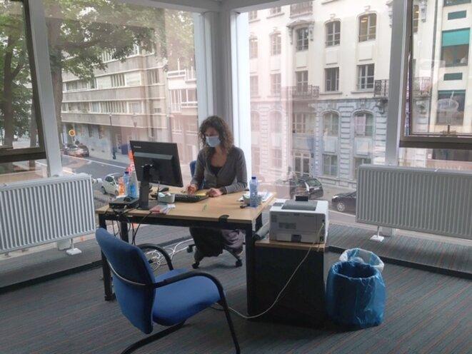 Valentine, la coordinatrice du centre d'hébergement pour femmes © Anais Ortega