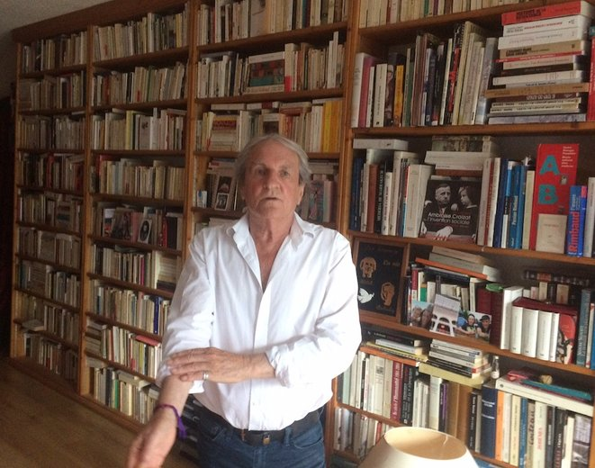 L'historien Michel Étiévent, biographe d'Amboise Croizat. © JLLT / MP
